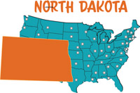 Search Results For North Dakota Clip Art Pictures Graphics - North dakota map united states