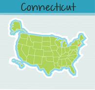 Search Results For Connecticut Clip Art Pictures Graphics - Connecticut on us map