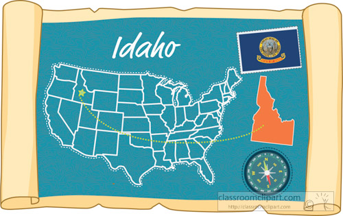 scrolled-usa-map-showing-idaho-state-map-flag-clipart.jpg