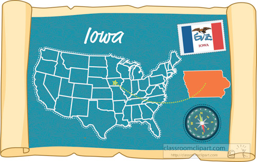 scrolled-usa-map-showing-iowa-state-map-flag-clipart.jpg