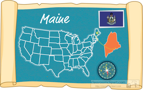 scrolled-usa-map-showing-maine-state-map-flag-clipart.jpg