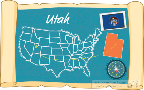 scrolled-usa-map-showing-utah-state-map-flag-clipart.jpg