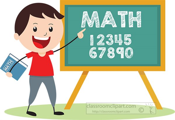 Mathematics Clipart- boy-teaching-math-clipart - Classroom ...