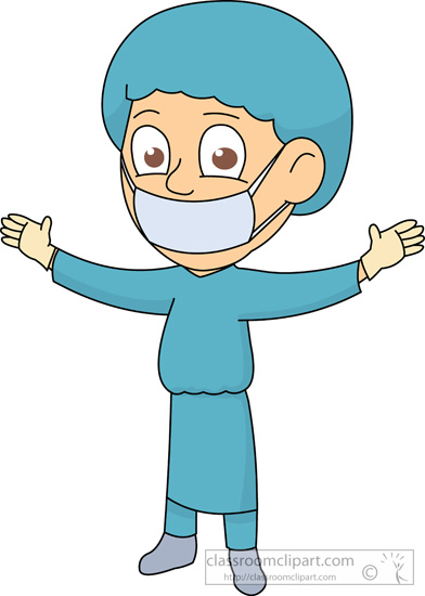 Medical Clipart Surgeon 114 Classroom Clipart