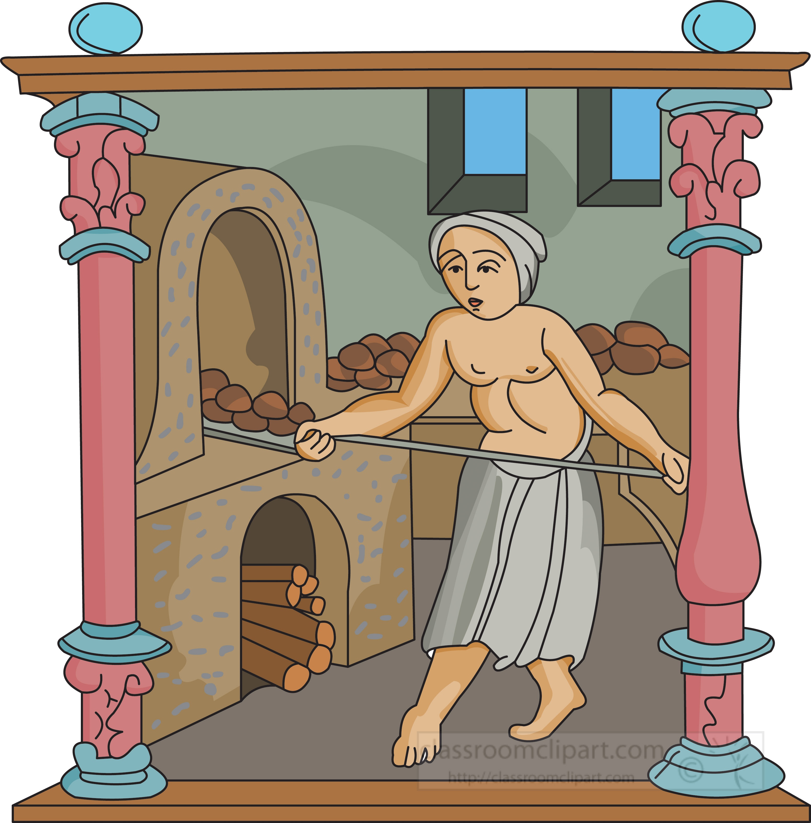 food-cooking-in-the-middle-ages-cipart.jpg