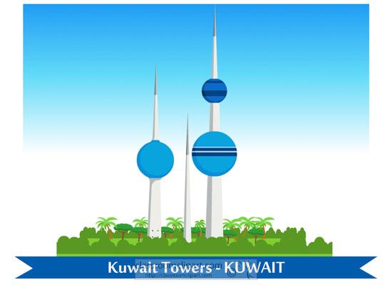 kuwait-towers-abraj-al-kuwait-clipart-718.jpg