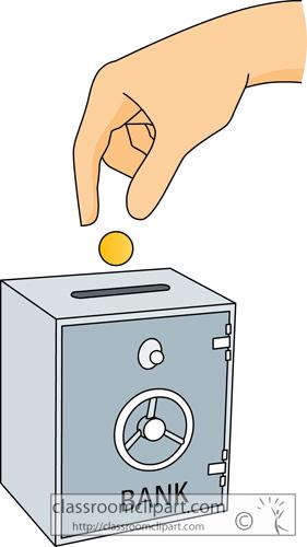 Deposit Money Clipart