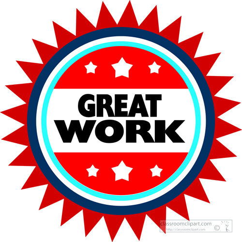 search results for great work clip art pictures graphics