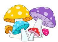 free mushrooms clip art pictures graphics illustrations rh classroomclipart com mushroom clipart picture mushroom clipart images