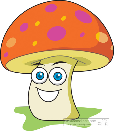 Mushroom Clipart Pictures to pin on Pinterest