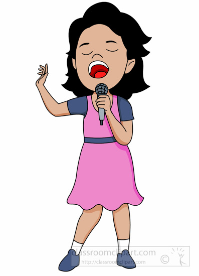 Music Clipart- young-female-singer-holding-microphone ...
