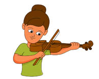 search results for violin - clip art - pictures - graphics