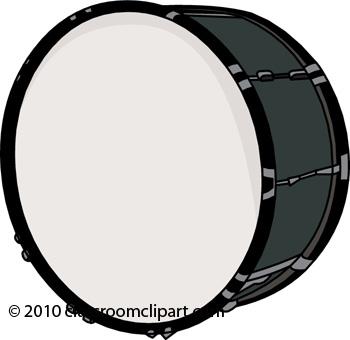 Musical Instruments Clipart Bass Drum 161009