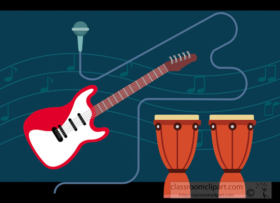 flat-illustration-of-musical-instruments-drum-swith-guitar-clipart.jpg