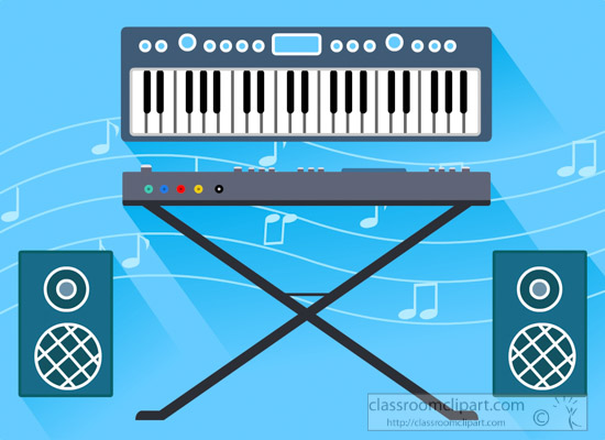 flat-illustration-of-musical-instruments-electric-keyboard-with-speakers-clipart.jpg