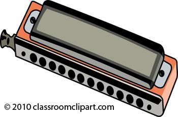musical instruments clipart harmonica 141009 classroom clipart rh classroomclipart com Harmonica Player Clip Art harmonica clipart free