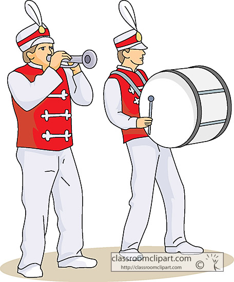 Marching Band Clipart Clarinet Musical Instruments : ...