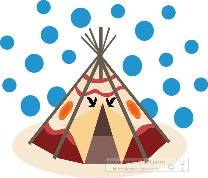 indian-tee-pee-with-blue-background-clipart.jpg