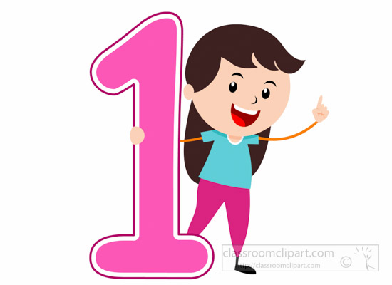 girl-standing-with-number-one-math-clipart-6920.jpg