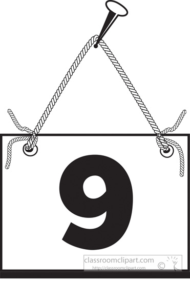 number-nine-hanging-on-board-with-rope.jpg