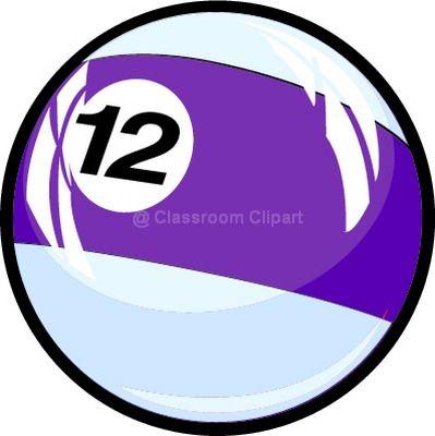 numbers clipart twelve classroom clipart