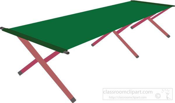 green-folding-cot-clipart.jpg