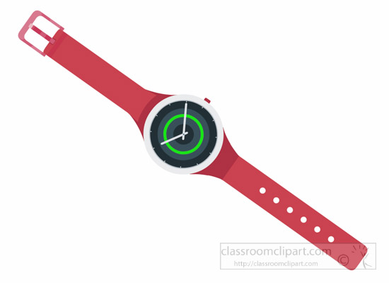 stylish-watch-with-red-band-clipart.jpg