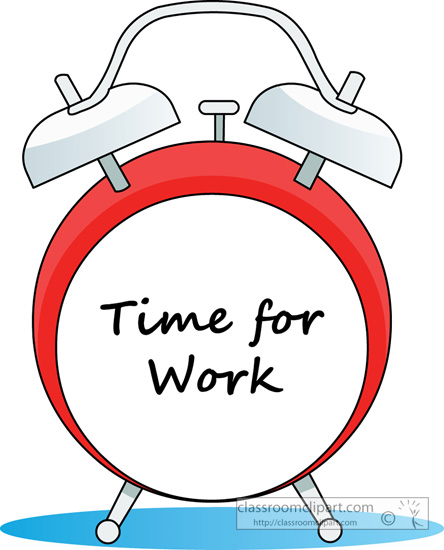 Employee Time Clock Clipart - More information