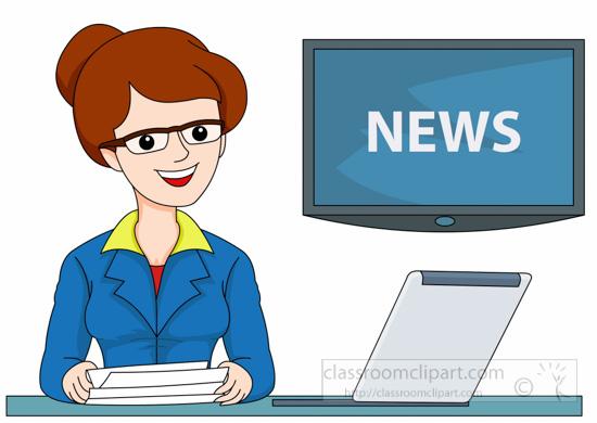 occupation clipart female tv news anchor clipart clip art desktop clip art desk bell