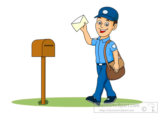 occupation clipart mail carrier clipart 5914 classroom clipart