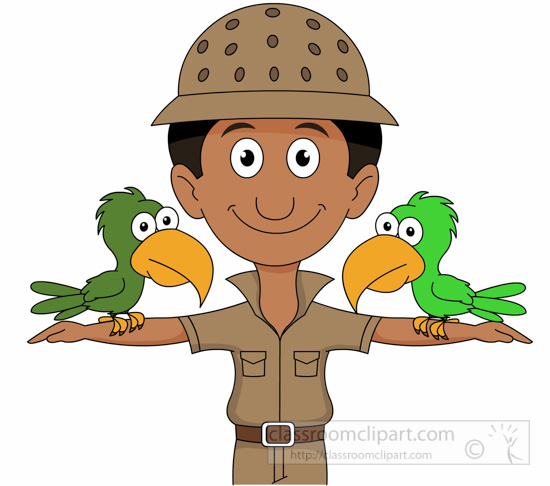 occupation clipart male zookeeper with birds clipart classroom clipart zoo animal clip art outlines zoo animals clip art black and white