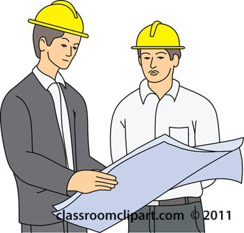 Men Reading Plans For Building Construction 1220