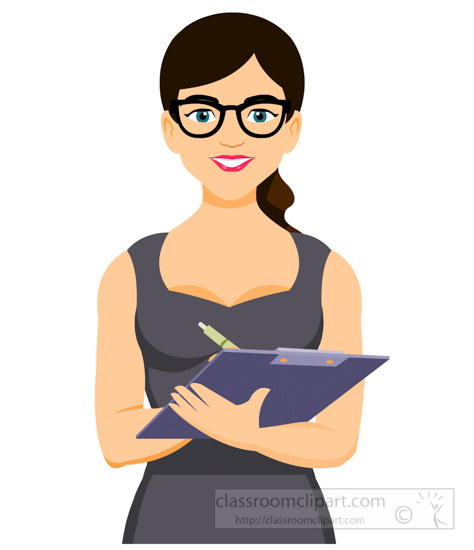 secretary-writing-on-clipboard-clipart-1220.jpg
