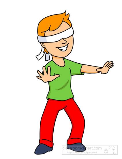 Blindfolded People Clip Art