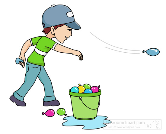 Throw Things Clipart