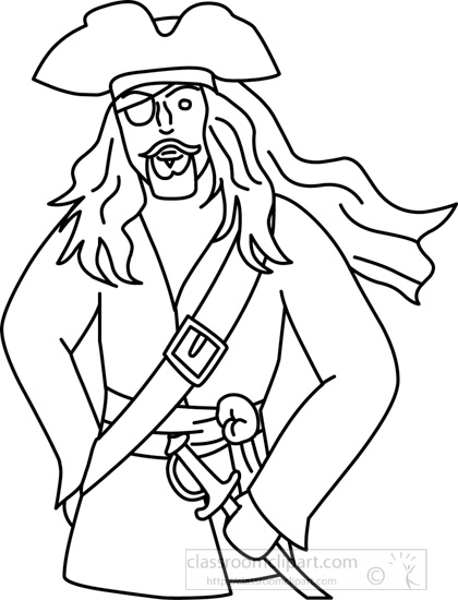 pirate_with_hat_standing_outline_212.jpg