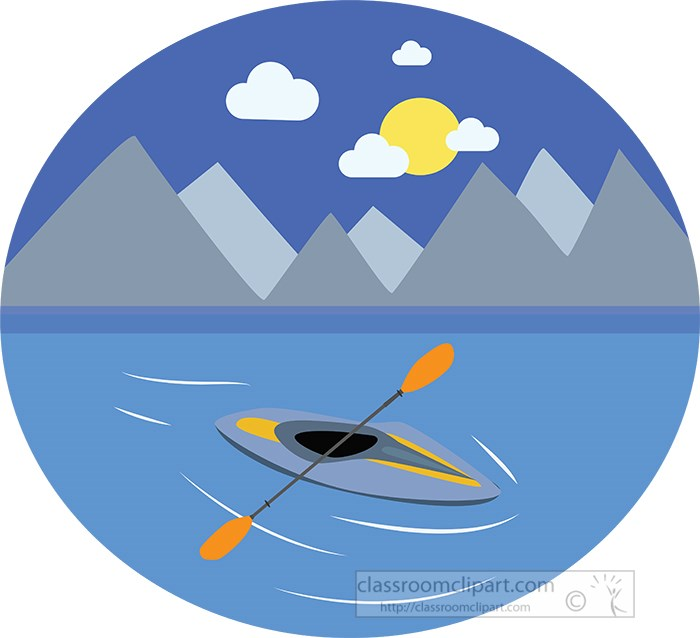 kayak-with-paddles-on-lake-surrounded-by-mountains-clipart.jpg