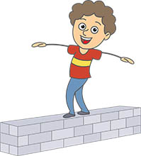 Walking On Balance Beam Clipart Search results - search results for ...