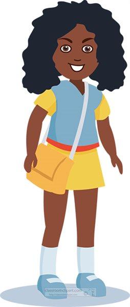 african american girl ready for school clipart.jpg