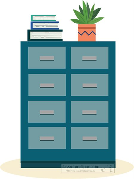 file-cabinet-with-books-plant-on-top-clipart.jpg