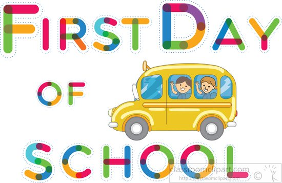 search results for first day school clip art pictures graphics rh classroomclipart com first day of school clipart black and white first day of high school clipart