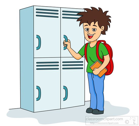 Clip Art Locker Clipart search results for locker pictures graphics row of lockers at school clipart 3157 2a size 65 kb from objects