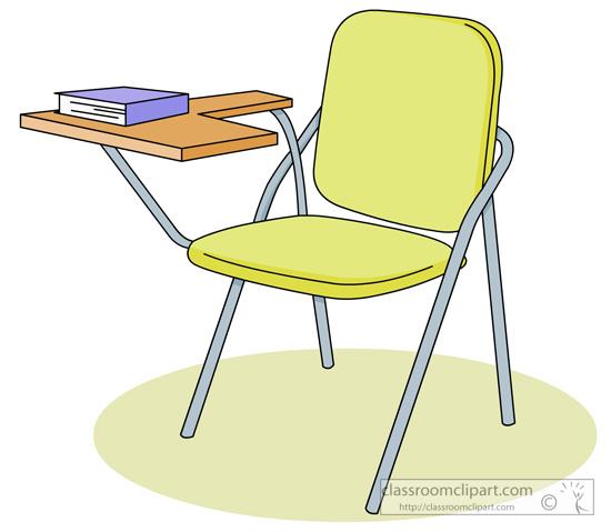 School Clipart - student_desk_04 - Classroom Clipart