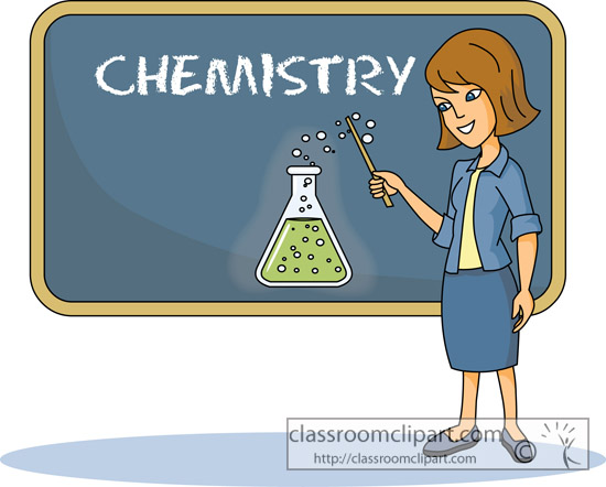 chemistry teacher clip art