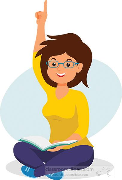 teenage-girl-raising-hand-with-book-in-hand-school-student-clipart.jpg