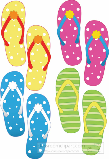 colorful-variety-summer-sandals-clipart.jpg