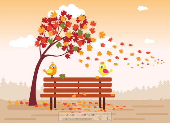 falli-folliage-leaves-with-bird-on-park-bench-clipart.jpg