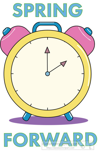 Seasonal : spring-forward-time-change-clock-clipart ...