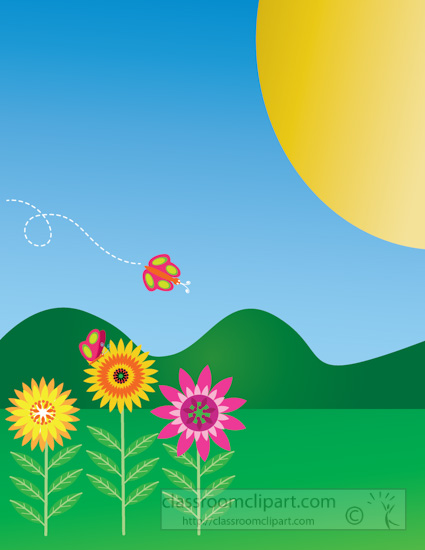 spring-time-flowers-with-butterllies-sun-clipart-316.jpg