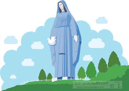 statue-of-the-virgin-mary-venezuela-clipart.jpg